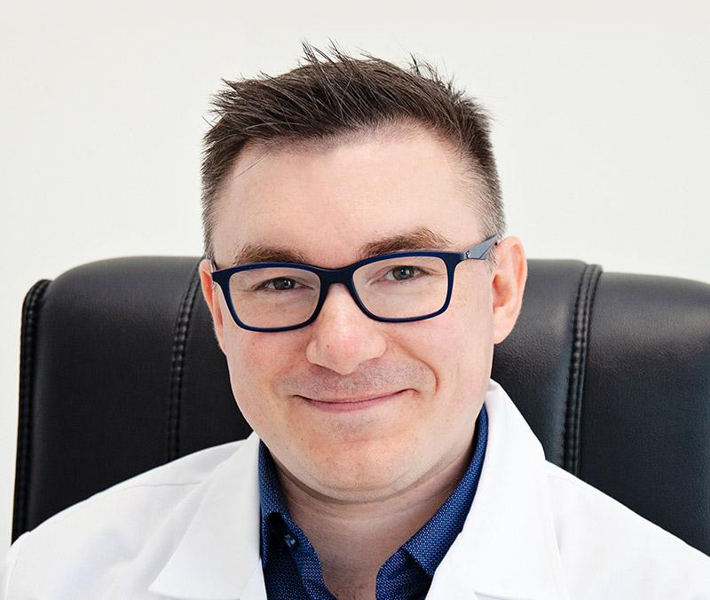 medycyna estetyczna grudziądz radtke clinic - dr Damian Gałązka